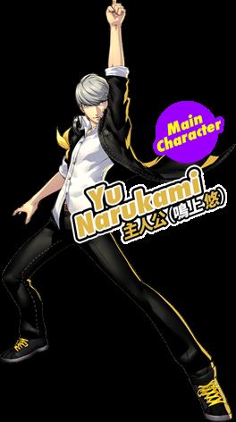 Main Character:主人公(鳴上悠)