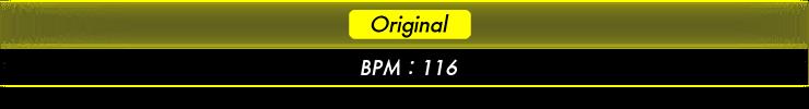 Original BPM:116