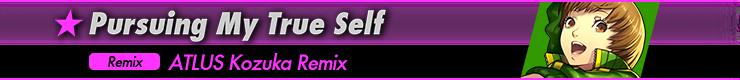 Pursuing My True Self(ATLUS Kozuka Remix)